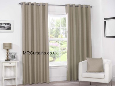 Luna - Blackout (Eyelet Heading) ready made curtain