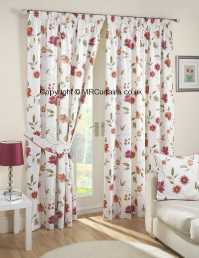 Charlotte (Pencil Pleat) ready made curtain