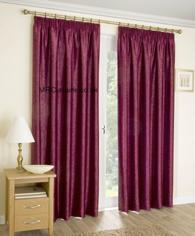 Apollo (Pencil Pleat Heading) ready made curtain