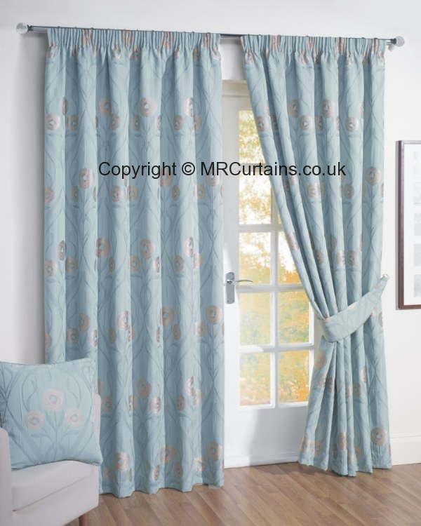 Duck Egg Blackout Curtains Pencil Pleat Www Redglobalmx Org