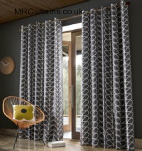 Linear Stem by Orla Kiely ready made curtain