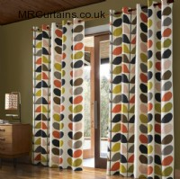 Multi Stem by Orla Kiely ready made curtain