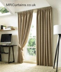 Nevin  - Blackout - (Pencil Pleat) ready made curtain