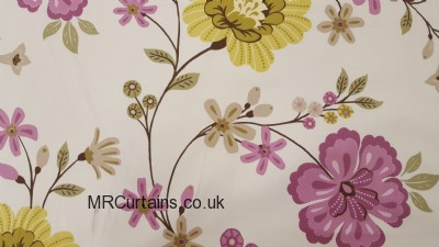 Eden curtain fabric