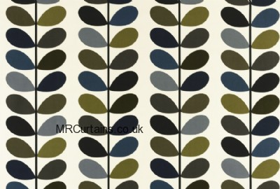 Multi Stem by Orla Kiely curtain fabric