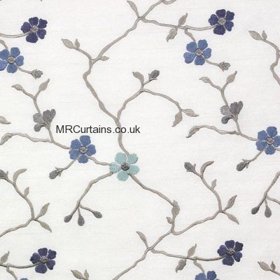 Cornflower curtain