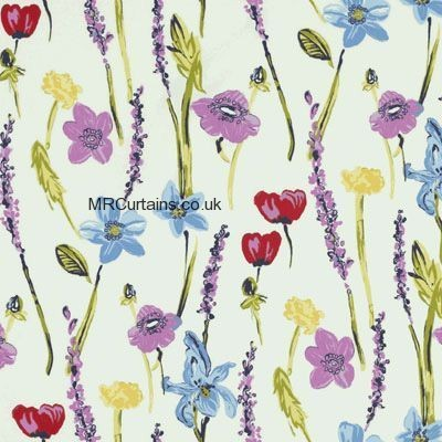 Springtime curtain fabric