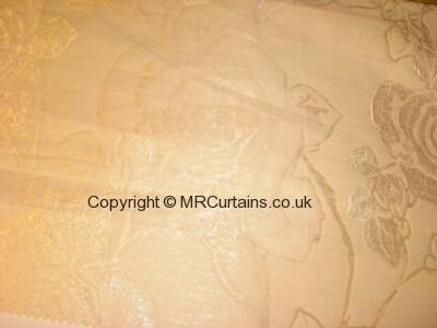 Cream curtain