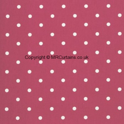 Dotty made to measure curtain