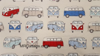 Camper Van curtain fabric