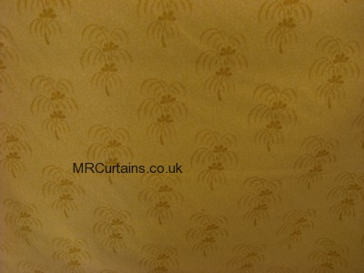 Yellow/Gold curtain