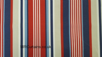 Stellar Stripe curtain fabric