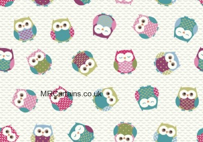 Owls made to measure curtain