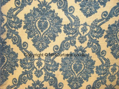 Wedgewood Blue curtain