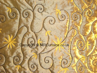 Lustre curtain fabric