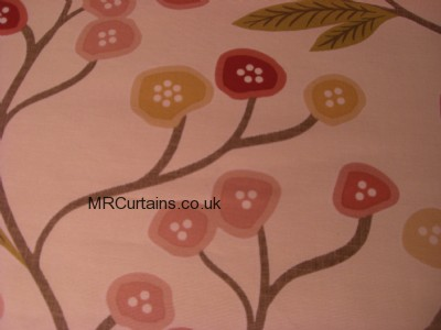 Chintz curtain