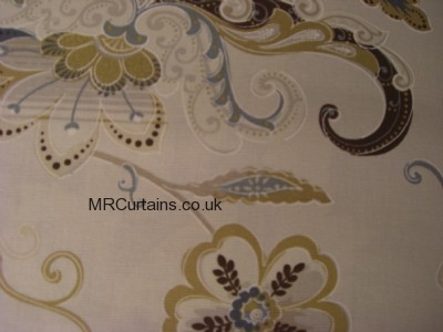 Wedgewood curtain