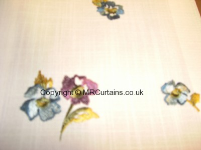 Buckingham curtain fabric