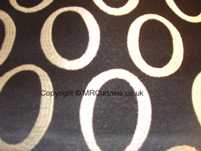 Mode curtain fabric