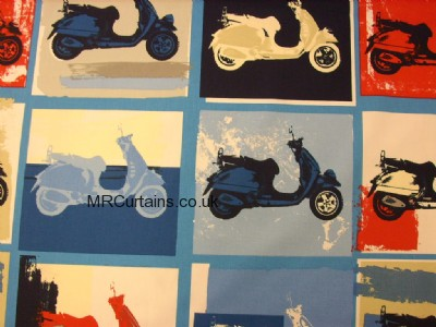 Scooter curtain fabric