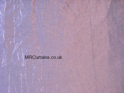 Faux Silk made to measure curtain