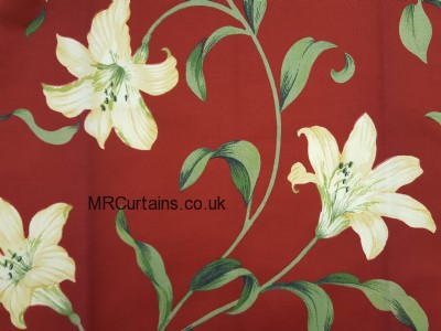 Lily curtain fabric