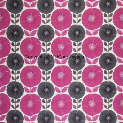 Poppy Pip Pop curtain fabric