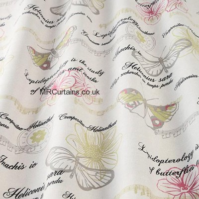 Decoupage made to measure curtain