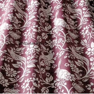 Heathland curtain fabric
