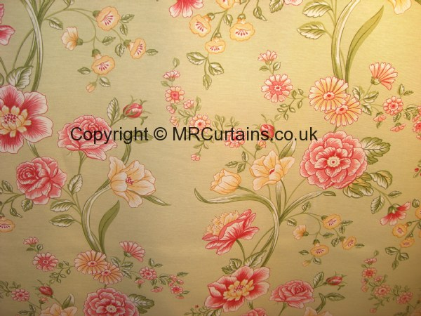 Vintage Flower By Bill Beaumont Textiles Curtain Fabric