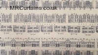 Brownmoor Lane curtain fabric