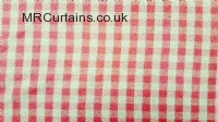 Cranberry curtain fabric material