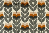 Rosebud by Orla Kiely curtain fabric