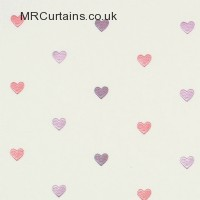 Love Hearts curtain fabric