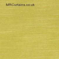 Yellow curtain fabric material