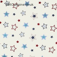 Stars curtain fabric