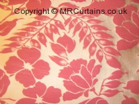 Woodland curtain fabric