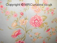 Vintage Flower curtain fabric