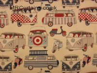 Road Trip (Camper Van Style) curtain fabric