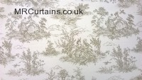Maire - Toile De Jouy curtain fabric