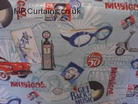 Musical curtain fabric