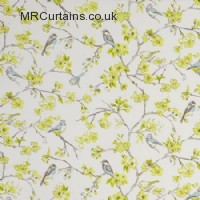 Birdies curtain fabric