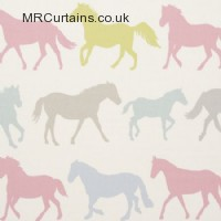 Stampede curtain fabric
