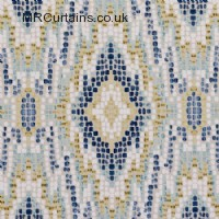 Mosaic curtain fabric