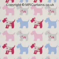 Scotties curtain fabric