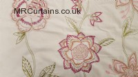 Blossom Pink curtain fabric material