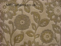 Nufeather curtain fabric