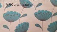 Poppies curtain fabric