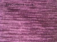 Aubergine curtain fabric material