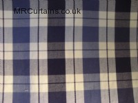 Navy curtain fabric material